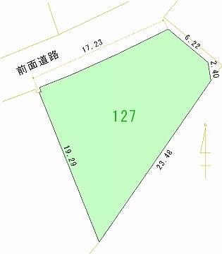 127号地 区画図