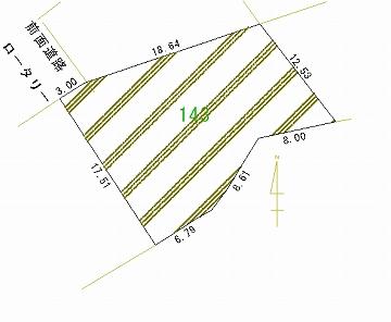 143号地 区画図
