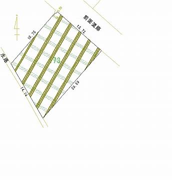 173号地 区画図