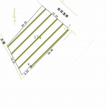 174号地 区画図