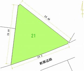 021号地 区画図