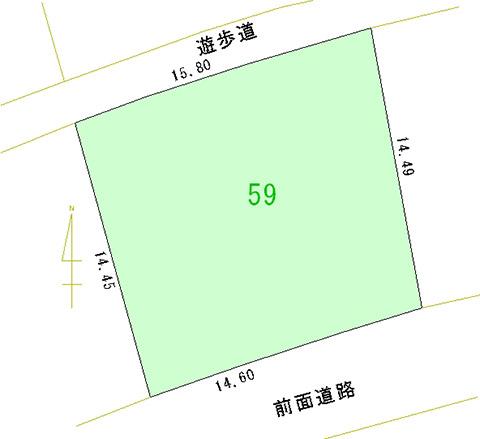 059号地 区画図