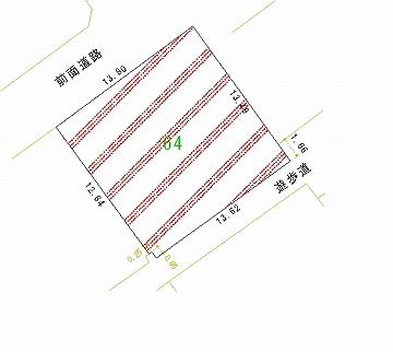 064号地 区画図