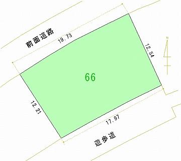 066号地 区画図